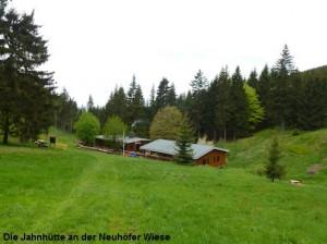 Mai Die Jahnhütte an der Neuhöfer Wiese
