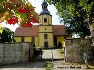 November Kirche in Roßdorf